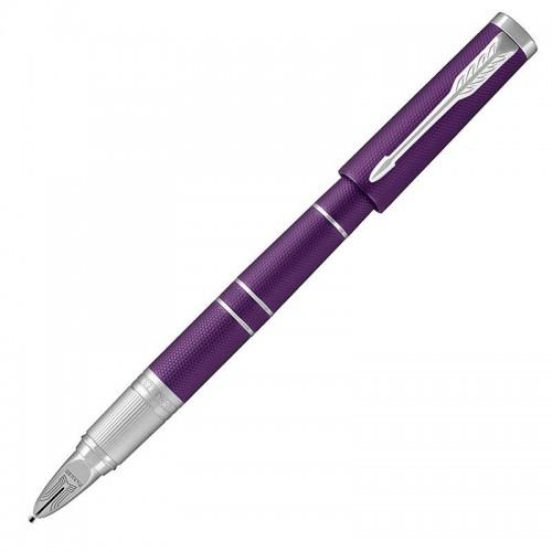 Ручка Parker (Паркер) 5th Ingenuity Deluxe Slim Blue Violet CT в Самаре