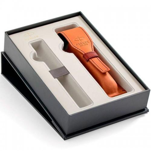 Набор с чехлом Parker из натуральной кожи и местом для ручки в Самаре