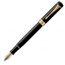 Перьевая ручка Parker (Паркер) Duofold Classic Centennial Black GT F