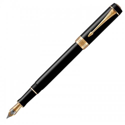 Перьевая ручка Parker (Паркер) Duofold Classic International Black GT F в Самаре