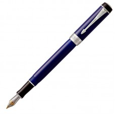 Перьевая ручка Parker (Паркер) Duofold International Classic Blue & Black CT F
