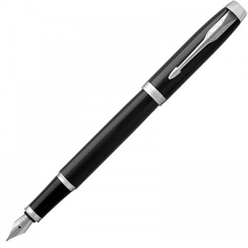 Перьевая ручка Parker (Паркер) IM Core Black Chrome CT F в Самаре