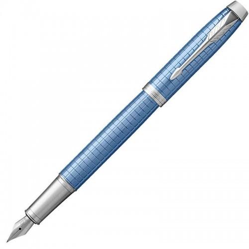 Перьевая ручка Parker (Паркер) IM Premium Blue CT F в Самаре