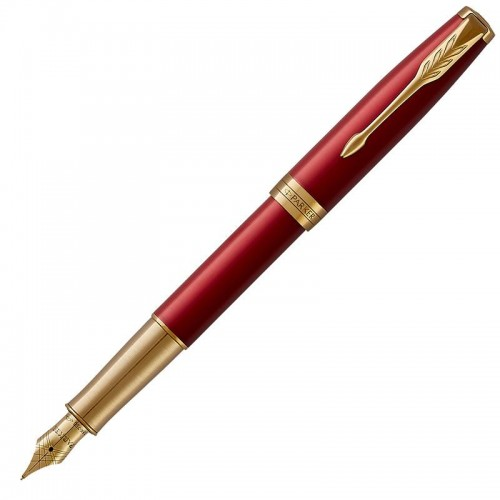 Перьевая ручка Parker (Паркер) Sonnet Core Red Lacquer GT F 18k в Самаре