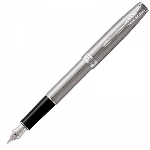 Перьевая ручка Parker (Паркер) Sonnet Core Stainless Steel CT F в Самаре