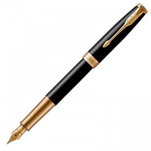 Перьевая ручка Parker (Паркер) Sonnet Core Black Lacquer GT F в Самаре