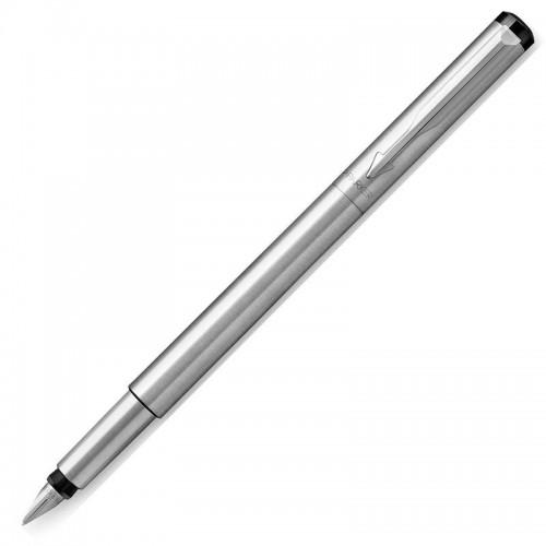 Перьевая ручка Parker (Паркер) Vector Standard Stainless Steel CT F в Самаре