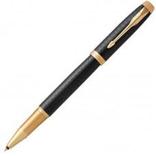 Ручка-роллер Parker (Паркер) IM Premium Black/Gold GT