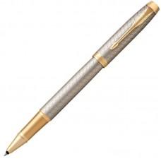 Ручка-роллер Parker (Паркер) IM Premium Warm Silver/Gold GT