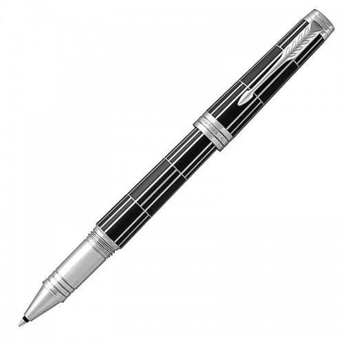 Ручка-роллер Parker (Паркер) Premier Luxury Black CT в Самаре