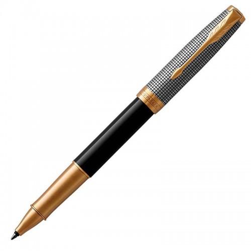 Ручка-роллер Parker (Паркер) Sonnet Premium Black Silver GT в Самаре