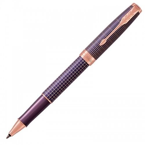 Ручка-роллер Parker (Паркер) Sonnet Luxury Cisele Purple Matrix PGT в Самаре