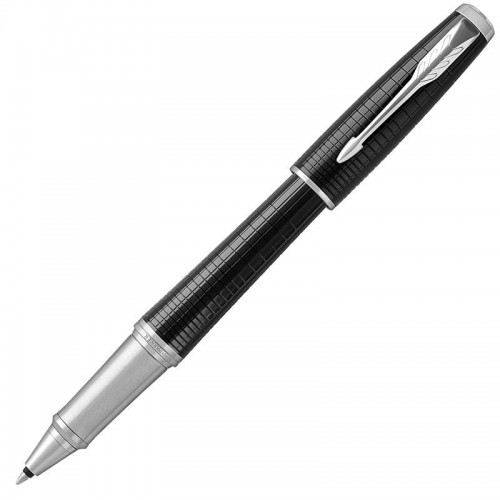 Ручка-роллер Parker (Паркер) Urban Premium Ebony Metal Chiselled CT в Самаре