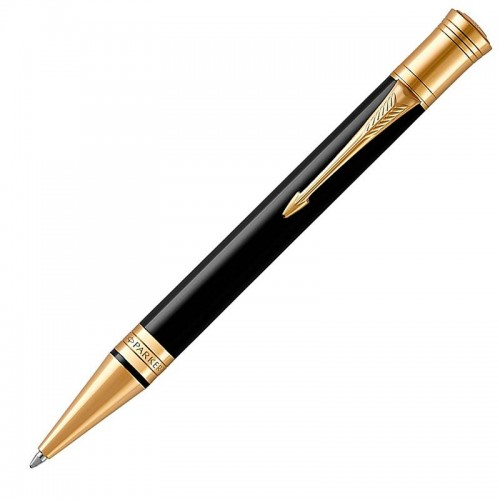 Шариковая ручка Parker (Паркер) Duofold Classic Black GT в Самаре