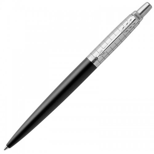 Шариковая ручка Parker (Паркер) Jotter Premium Bond Street Black Grid CT в Самаре