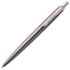 Шариковая ручка Parker (Паркер) Jotter Gel Premium Oxford Grey Pinstripe CT с гелевым стержнем