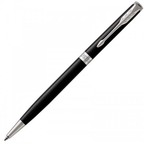 Шариковая ручка Parker (Паркер) Sonnet Core Slim Black Lacquer CT в Самаре