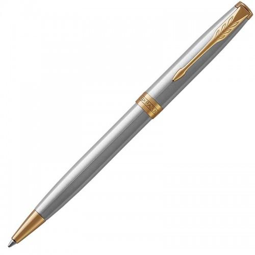 Шариковая ручка Parker (Паркер) Sonnet Core Stainless Steel GT в Самаре