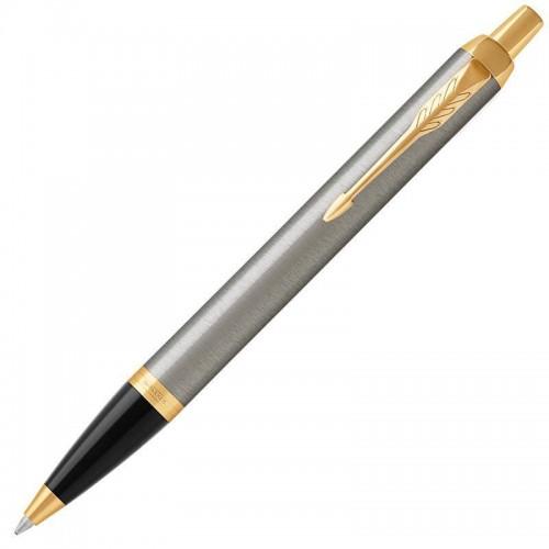 Шариковая ручка Parker (Паркер) IM Core Brushed Metal GT в Самаре