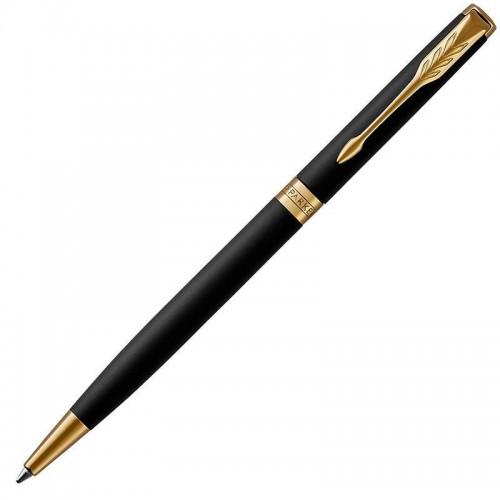 Шариковая ручка Parker (Паркер) Sonnet Core Slim Matte Black Lacquer GT в Самаре