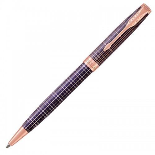 Шариковая ручка Parker (Паркер) Sonnet Luxury Cisele Purple Matrix PGT в Самаре