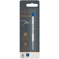Синий шариковый стержень Parker (Паркер) Ball Pen Refill QuinkFlow Premium F Blue