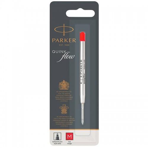 Красный шариковый стержень Parker (Паркер) Ball Pen Refill QuinkFlow Premium M Red в Самаре